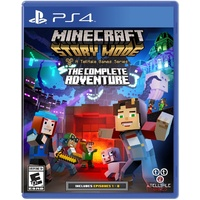 Minecraft Story Mode - A Telltale Games Series The Complete Adventure PS4