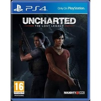 Uncharted The Lost Legacy +  Jak & Daxter PS4