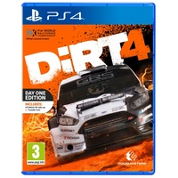 DiRT 4 Day 1 Edition PS4