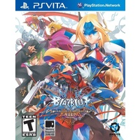BlazBlue Continuum Shift Extend Vita