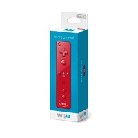 Genuine Wii Remote Plus Controller Red - Japan Version