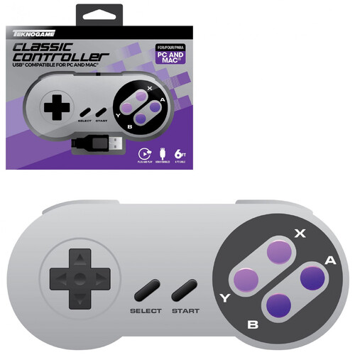SNES Style USB Controller PC