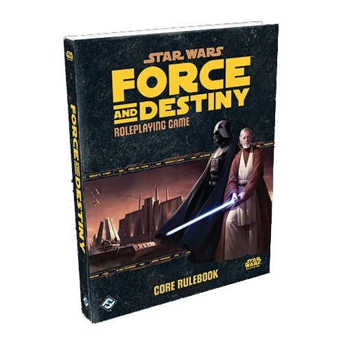 Star Wars Force and Destiny Core Book RPG