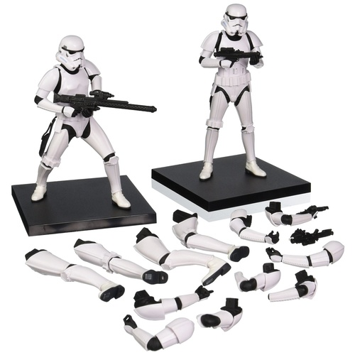 Star Wars: First Order Stormtrooper Two Pack ARTFX+ Statue