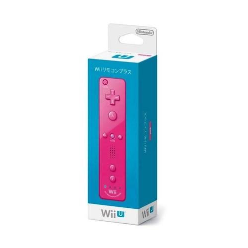 Genuine Wii Remote Plus Controller Pink - Japan Version