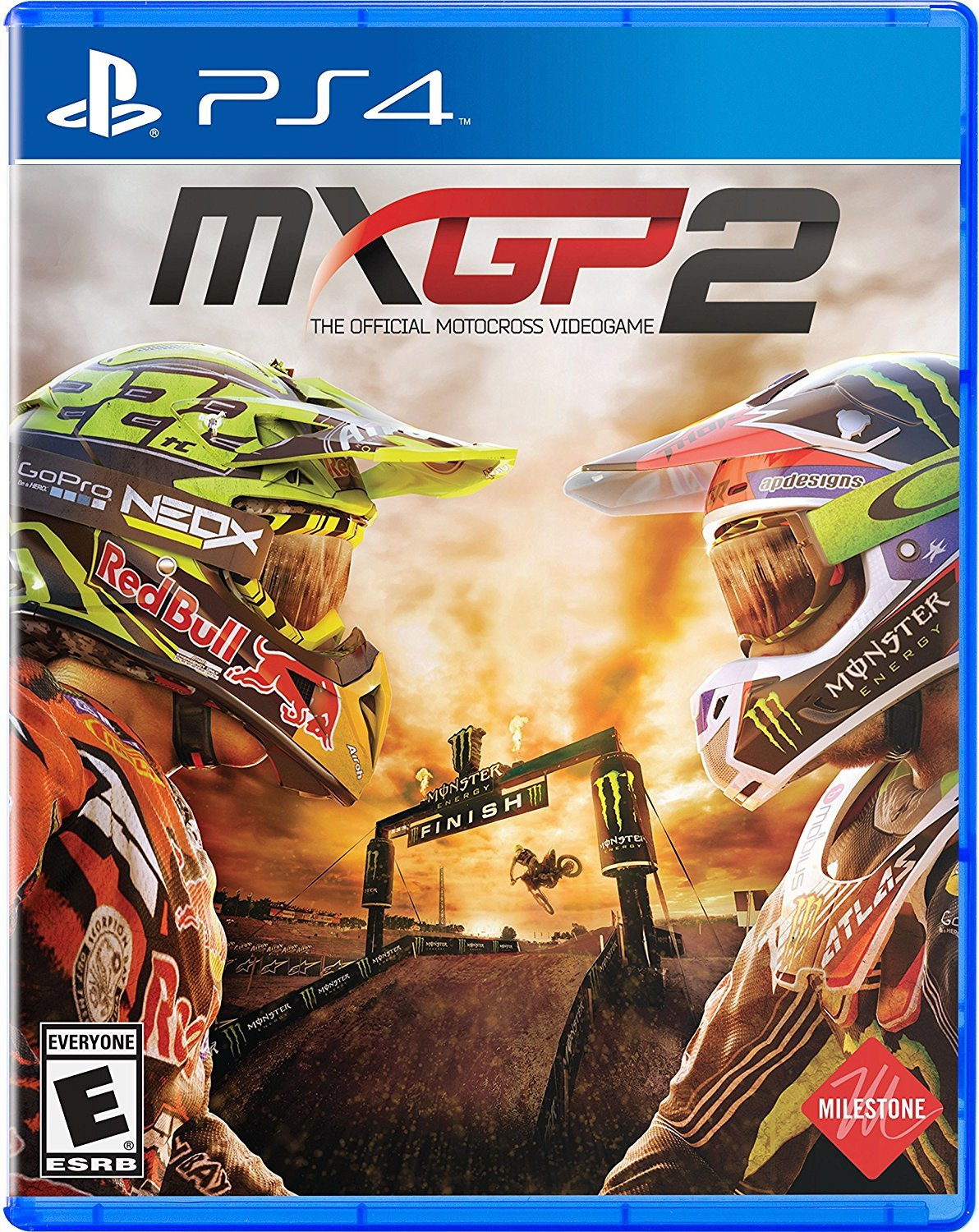 mxgp 2 the official motocross videogame ps4 milestone s r l. Black Bedroom Furniture Sets. Home Design Ideas