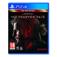 Metal Gear Solid V The Phantom Pain - Day 1 Edition PS4