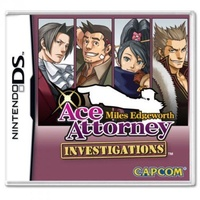 Ace Attorney Investigations: Miles Edgeworth DS