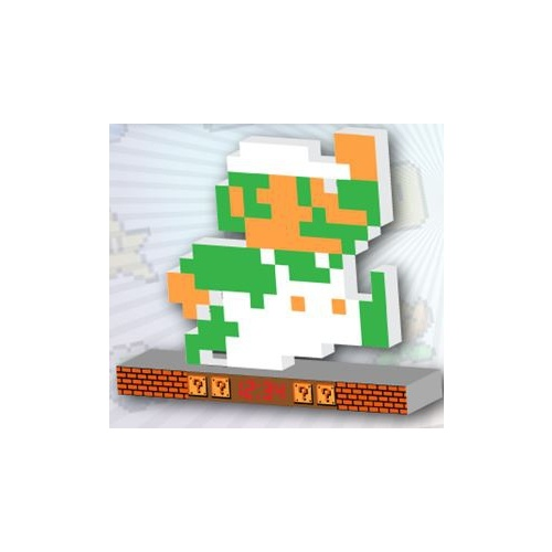 Super Mario Retro Alarm Clock - Luigi