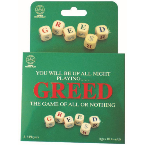 Greed Dice Game