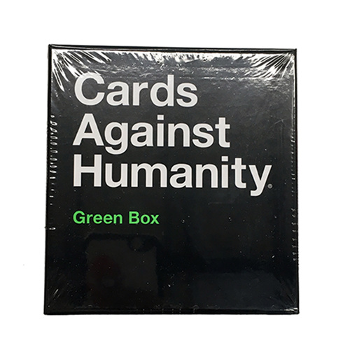 Cards Against Humanity Green Box