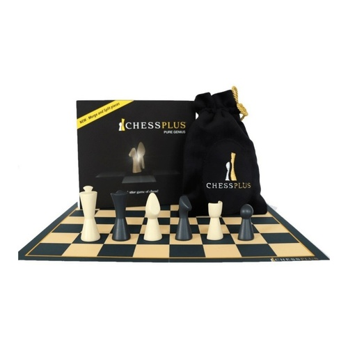 Chess Plus Boxed and pieces