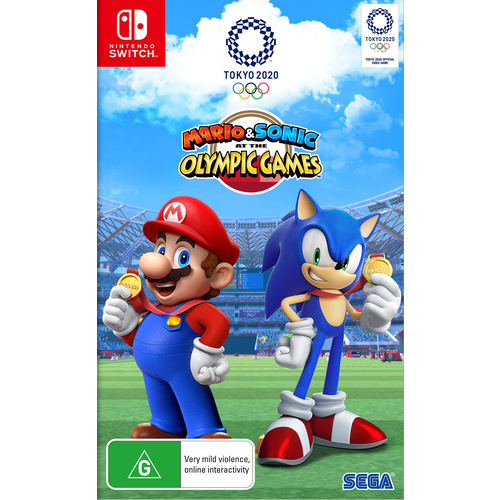 Mario & Sonic at the Olympic Games Tokyo 2020 SWI