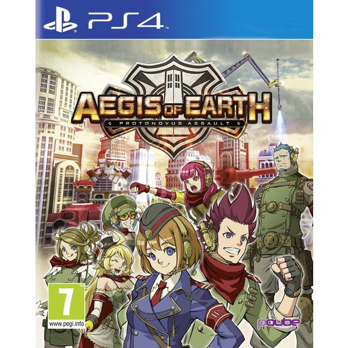 Aegis of Earth: Protonovus Assault PS4