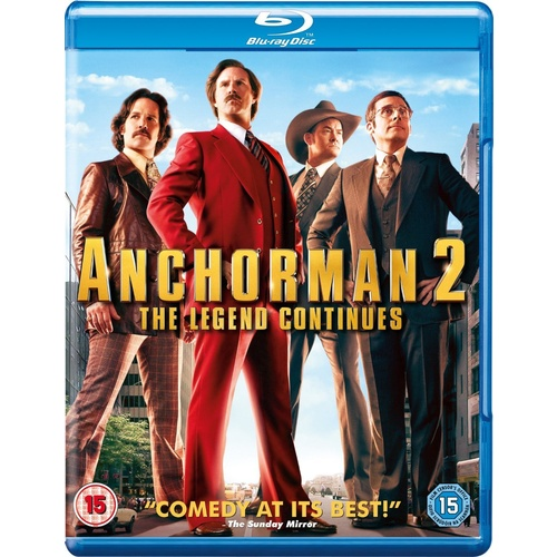 Anchorman 2 The Legend Continues Blu-ray