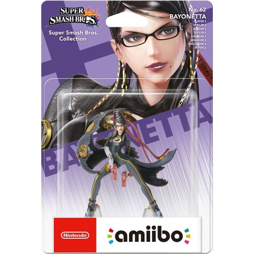 Amiibo Super Smash Bros. Edition Bayonetta No. 62